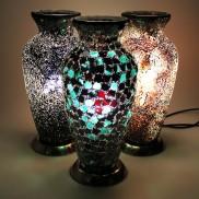 Mosaic Vase Lamp