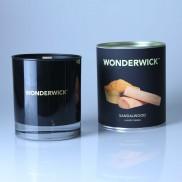 Wonderwick Sandalwood Noir Glass Candle