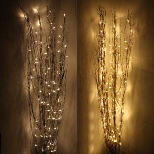 1.2M Holograph Glitter Twig Light