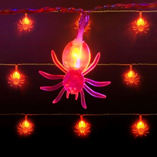 10 Halloween Battery Fairy Lights