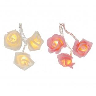 10 Rose Battery Fairy Lights