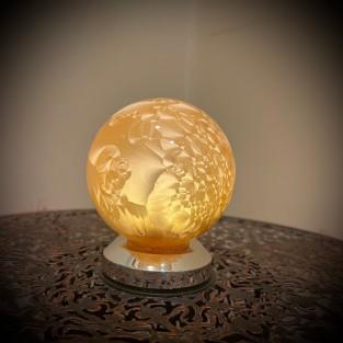 10cm Gold Glass Ball Light