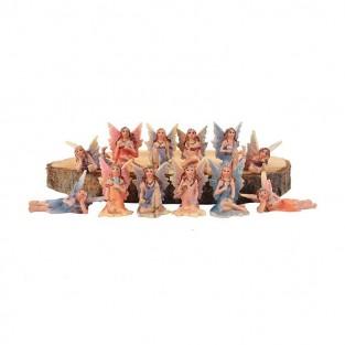 12 Mini Garden Fairies