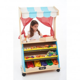 2 in 1 Play Shop & Theatre