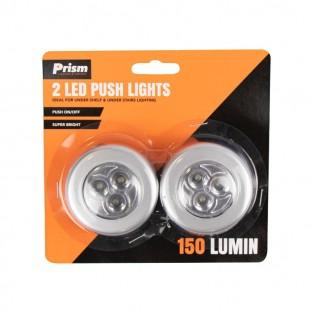 Two LED Push Lights