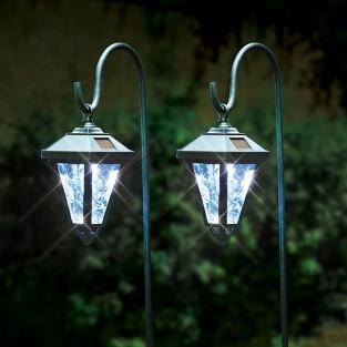 Solar Shepherd Lanterns with Hooks (2 pack)