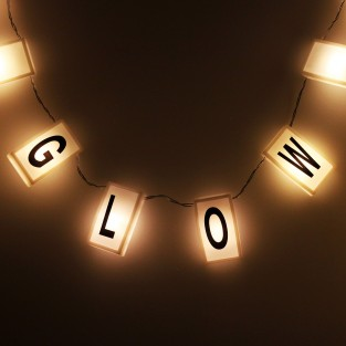 20 DIY Message Lights