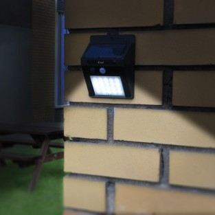 20 LED Solar Security Light with Motion Sensor