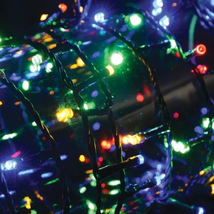 200 Multi Coloured Timer Fairy Lights