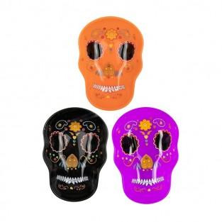Sugar Skull Plates (3 pack)