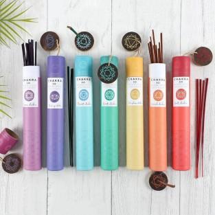 30 x Chakra Incense Sticks