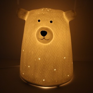 3D Ceramic Lamp Bear