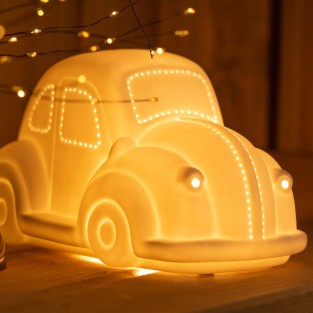 3D Ceramic Lamp Car