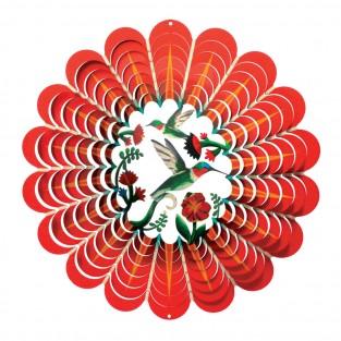 3D Hummingbird Wind Spinner