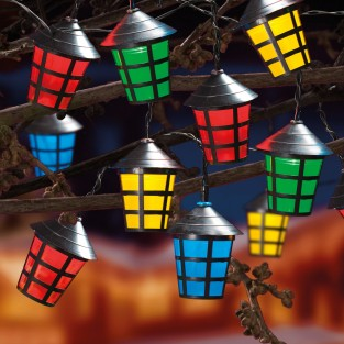 40 LED Traditional Lantern Lights
