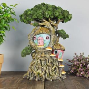44cm Giant Light Up Fairy Treehouse