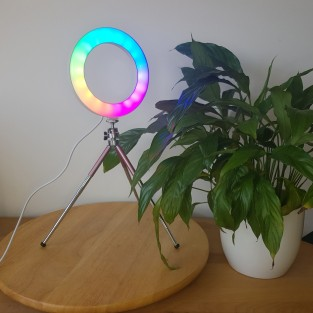 "6"" Colour Stream Ring Light"