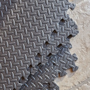 6 Interlocking Eva Foam Floor Tiles