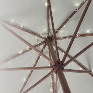 60 LED Parasol Lights B/O