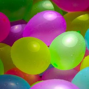 60 Neon Water Balloons
