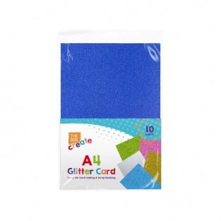 A4 Glitter Card (10 pack)