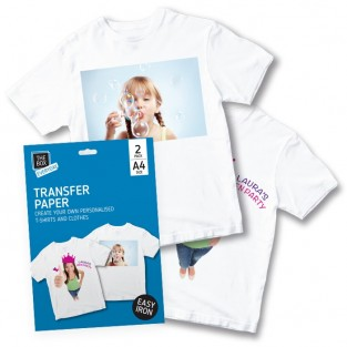 Print Your Own T-Shirt Transfer Paper (2 pack)