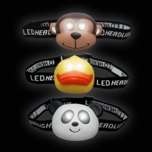LED Animal Head Torch