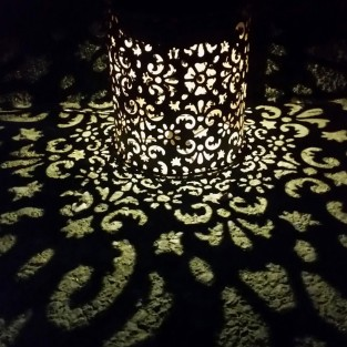 Arabesque Shadow Lantern