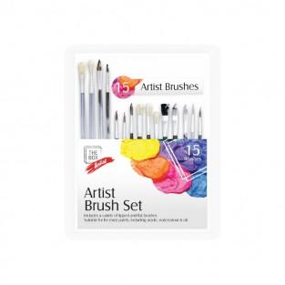 Artist Brush Set (15 pack)