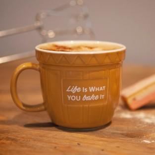 Baking Bowl Mug - Life Is What You Bake It