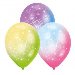 Fireworks LED Latex Balloons (4 pack)