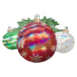 Super Shape 88cm Christmas Ornaments Balloon