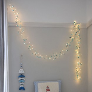 Azure Battery Operated Fairy Lights