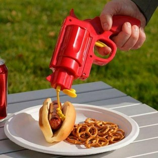 BBQ Condiment Gun