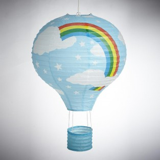Blue Balloon Paper Shade
