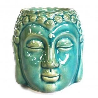 Blue Buddha Head Oil Burner