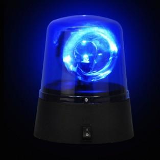 Blue Disco Police Light (18078)
