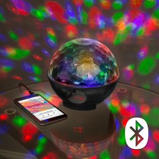 Disco Party Bluetooth Speaker & Radio Light