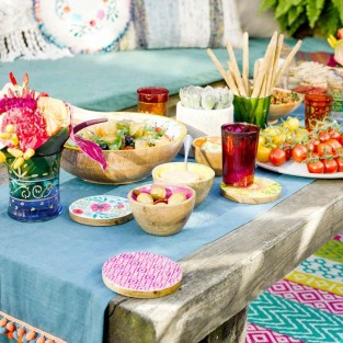 Boho Fabric Table Runner