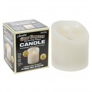 Glow Dancers 8cm Flickering Flame Candle