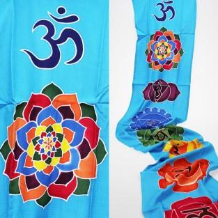Blue Chakra Drop Banner
