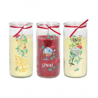 Christmas Tipples Fragranced Candle