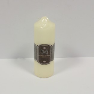 Church Pillar Candle 50hr 15cm (CD5266A)