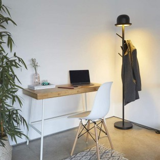 Chapeau Floor Lamp & Coat Stand