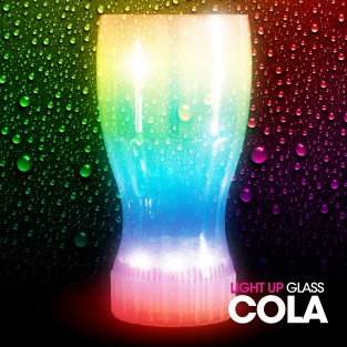 Flashing Cola Glass Wholesale