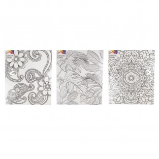 Colour in Canvas (3 pack)