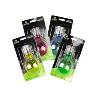 Colourful Solar Light Bulbs x 4