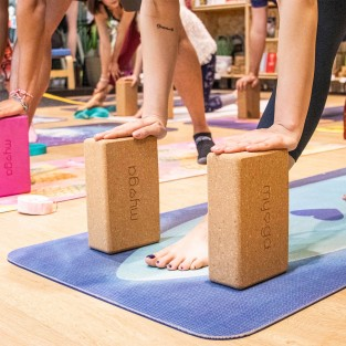 Eco Cork Yoga Brick