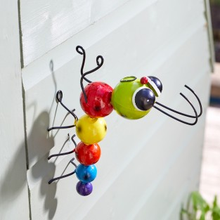 Crazy Caterpillar Garden Decoration - Hangers On