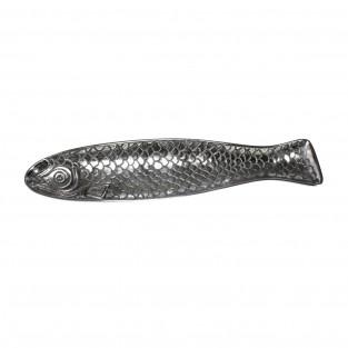 Large Decorative Metal Fish Plate